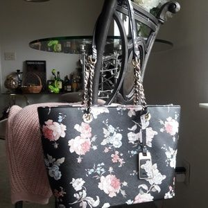 New With Tag Floral Tote Sholder Bag Purse